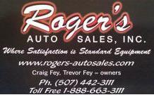 Roger's Auto Sales